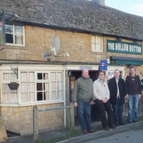 2012 Cheltenham played host to Team Fourth Arch in 2012 as we visited The Hollow Bottom in Gutting Power and Hook Norton Brewery- Gez's choice this year.