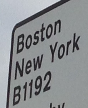 A sign from the East coast, not sure which country...