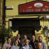 2016: The Lady of Mann, Liverpool. Brother Rhys took us on a Magical Mystery Tour around the Beatles' own heartland.