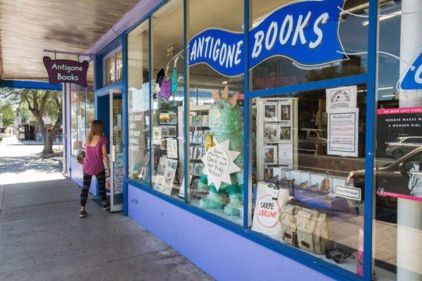 Antigone Books on Historic Fourth Avenue in Tucson, AZ. Photo courtesy of Tucson.com