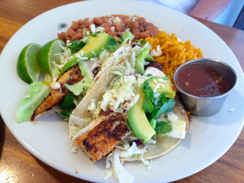 Fish Tacos at The B Line on Fourth Avenue (credit: Edible Baja Arizona)