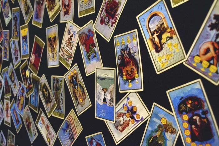 Tarot Cards at Celestial Rites in Tucson, AZ. Photo courtesy of Celestial Rites.
