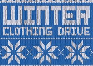 Winter Clothing Drive Promo Image Courtesy of PopCycle.