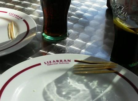 köstliche Tapas von Lizarran