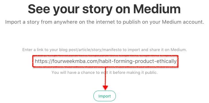 Import Stories Medium