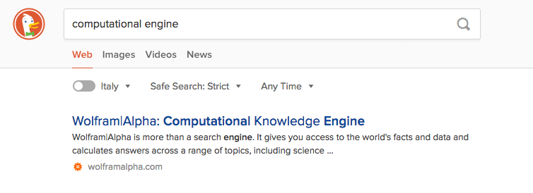 computational engine