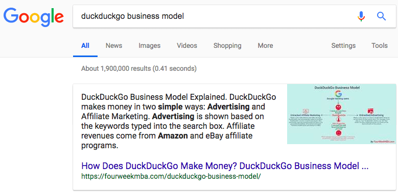 duckduckgo-business-model-featured-snippet