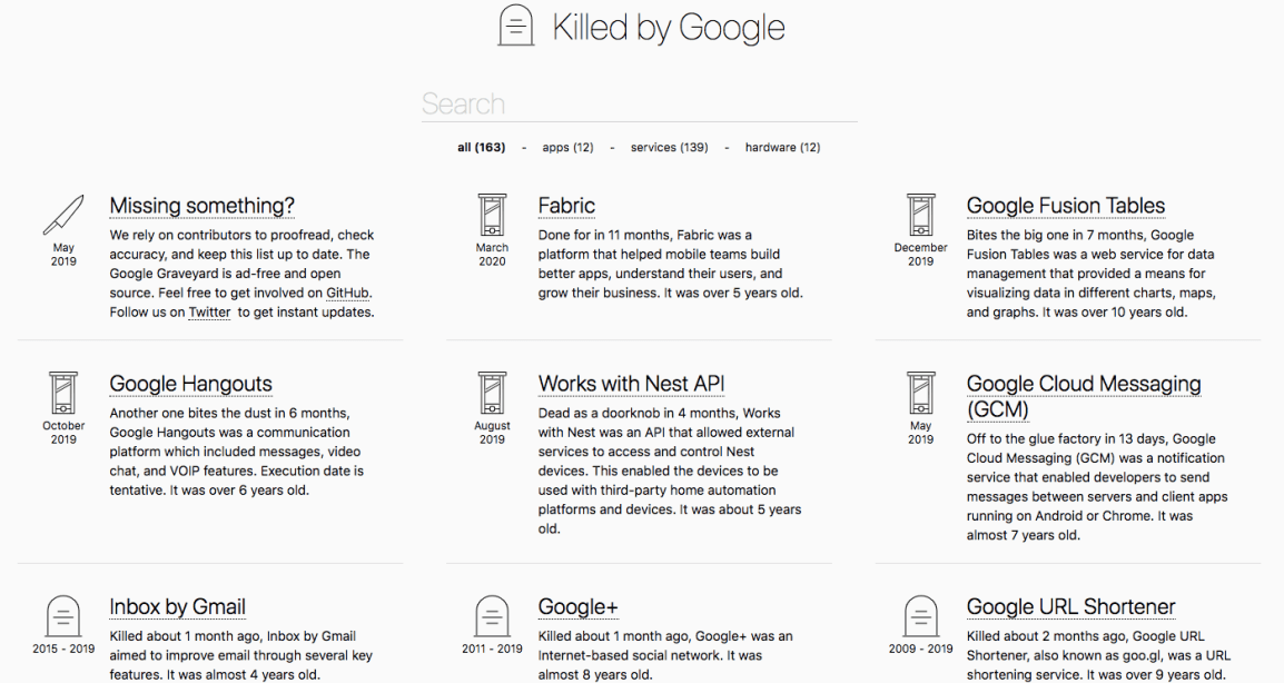 failed-google-products
