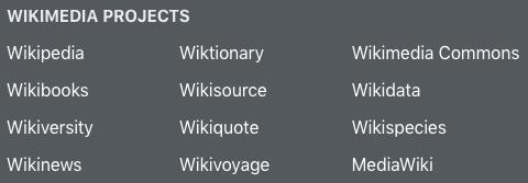 wikimedia-projects