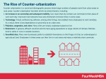 The Rise of Counter-urbanization And The Future Business Implications