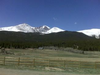 West of Peak-to-Peak Highway