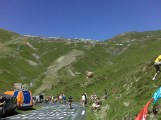 Near the summit of the Col du Tourmalet