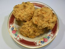 Sweet Potato Biscuits in bowl