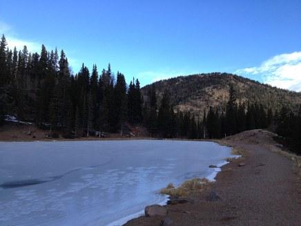 Blue Lake looking southeast