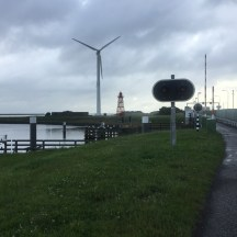 zuid meest eind van de Afsluitdijk