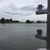 boot in rivier vanaf veer