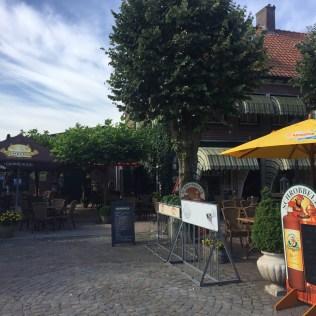 café langs fietsroute