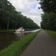 schepen in kanaal