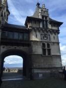 kasteel toren met beeld plaatje