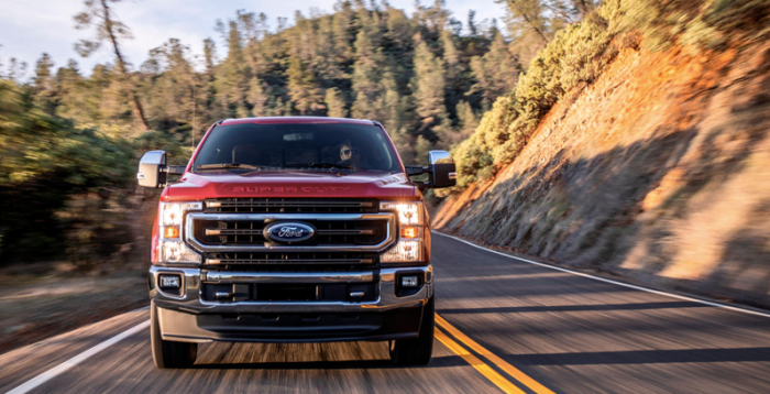 2021 F250 Super Duty Driving Experience