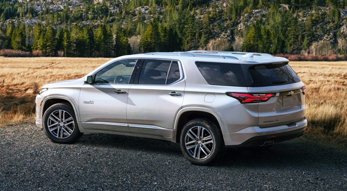 New Chevy Traverse 2023