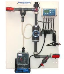 Pulsafeeder Panel Mount System