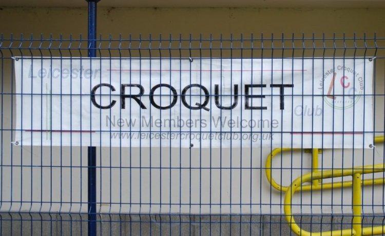 Croquet on the Park