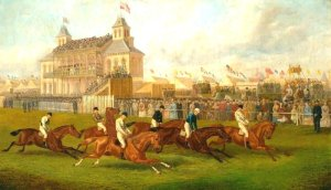 Horse Racing on Victoria Park