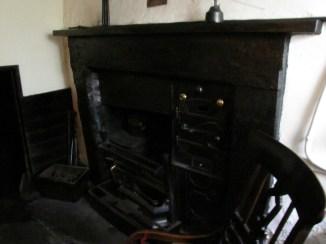 A proper fireplace, Dove Cottage