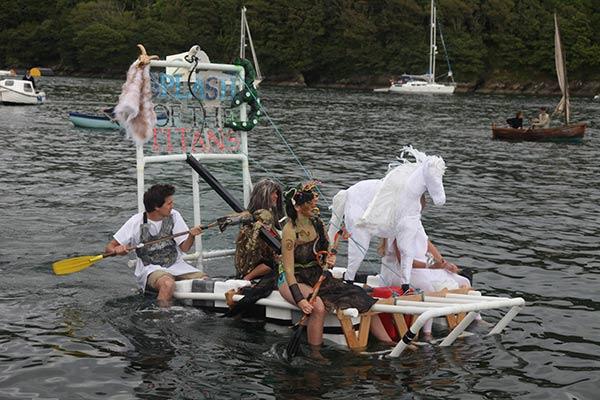 Homemade Raft Race
