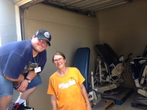 8.17.16 Saint Vincent de Paul donated truck & help (Tammy & Casey)