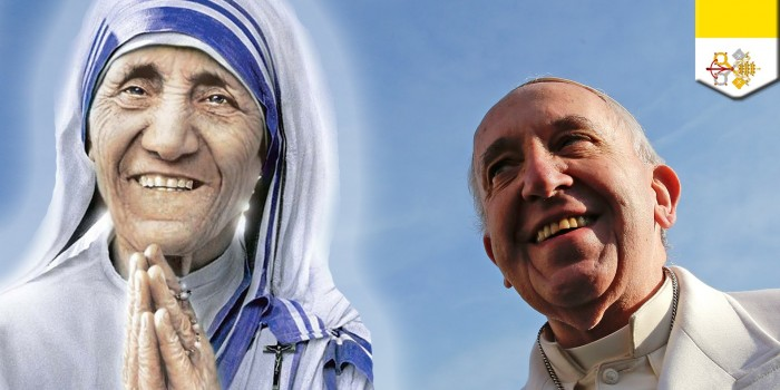 Mother Teresa Canonisation Pilgrimage: 2-11 September 2016
