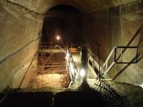 Descending through the South Tunnel.