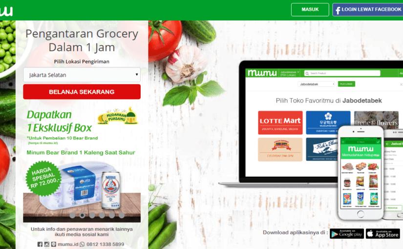 Mudahnya Berbelanja Sembako Online di Mumu.id