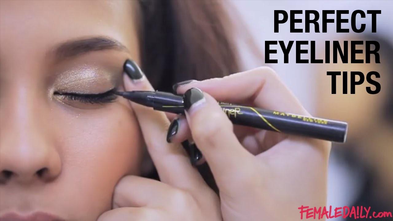 Penggunaan Eyeliner Maybelline