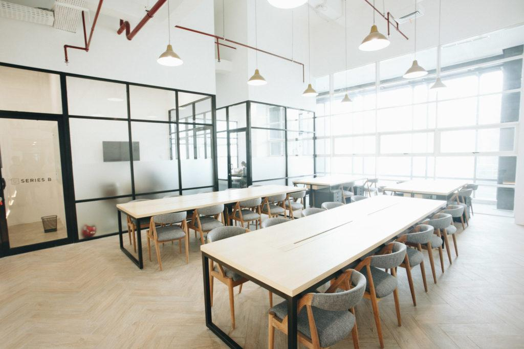 Desain Coworking Space Jakarta di Snapy