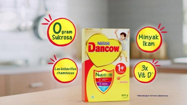 Kandungan Dancow 1+