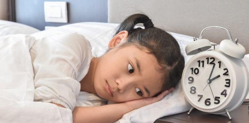 Beberapa Faktor Penyebab Anak Susah Tidur