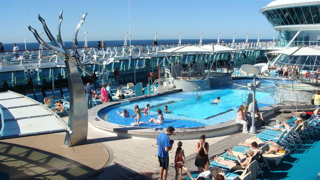 Image result for vision of the seas pools