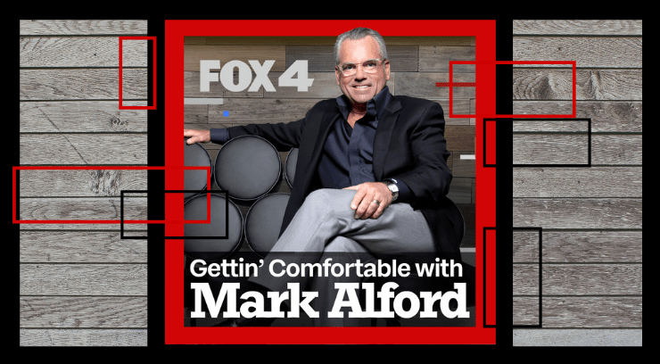 Logo for Mark Alford podcast