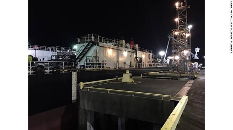 Oil Spill Washington Department