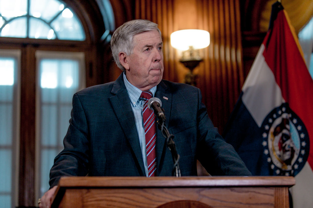 Picture of Missouri Gov. Mike Parson