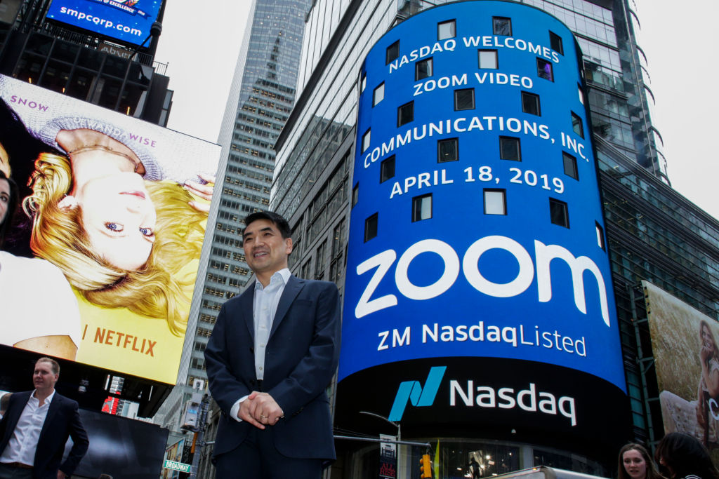 Picture of Zoom CEO