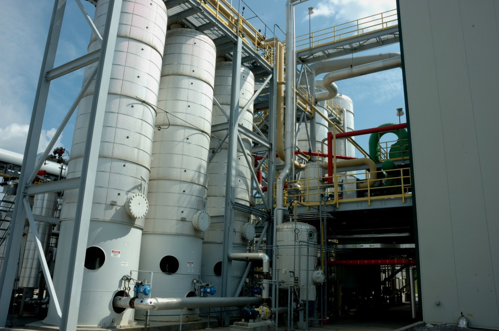 Picture of silos at Show Me Ethanol