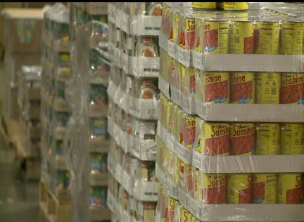 Some food banks feel effects of government shutdown