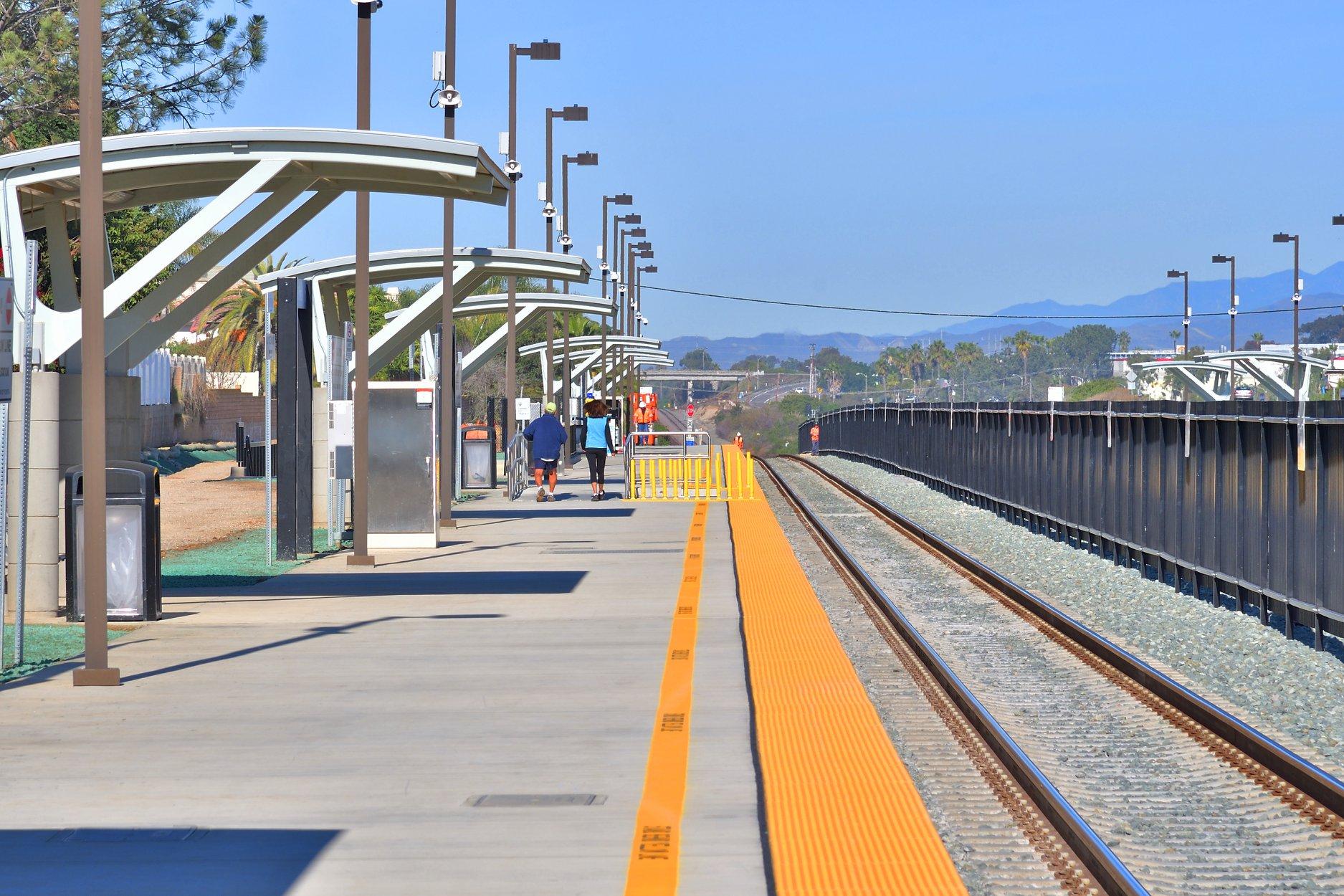 Pointsettia Station in Carlsbad (Photo: SANDAG)