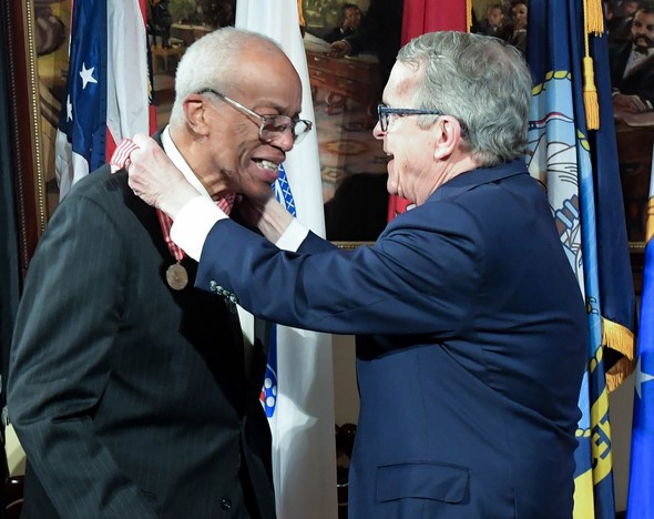 Col. Guion Bluford, Ohio Distinguished Service Medal