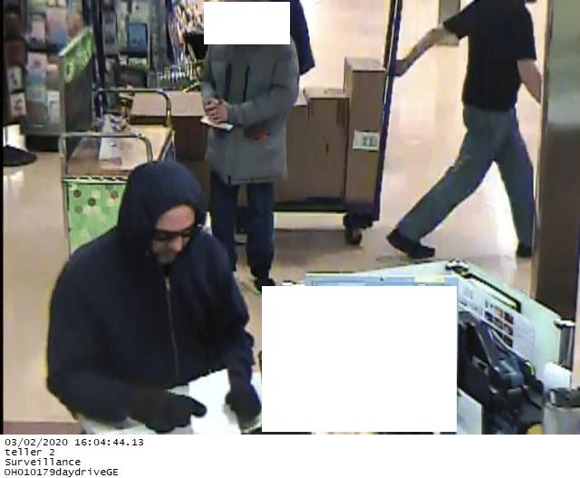 Huntington Bank in Parma robbery