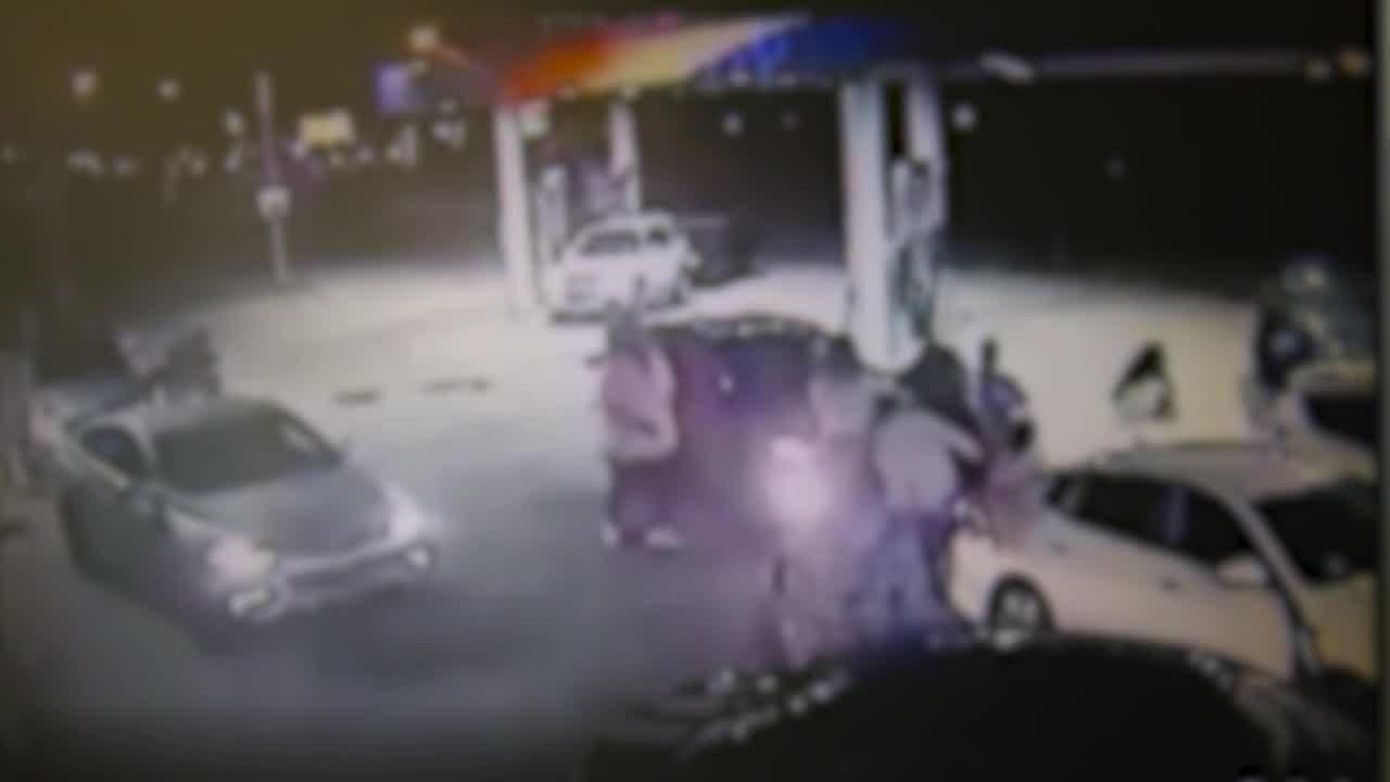 Euclid gas station dangerous driver