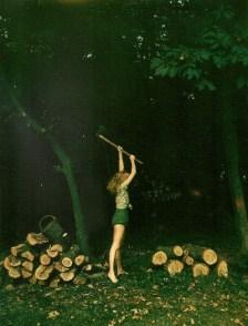 Chopping Wood | Friday Favorites via Fox & Brie